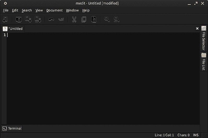 medit - Text Editor