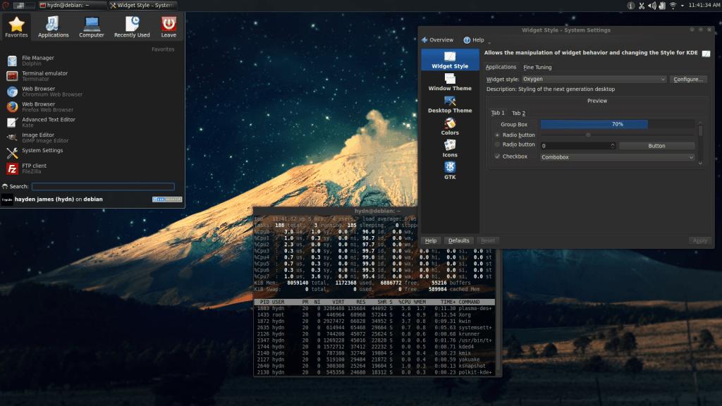 Debian KDE