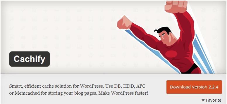 Cachify — WordPress Cache Plugin