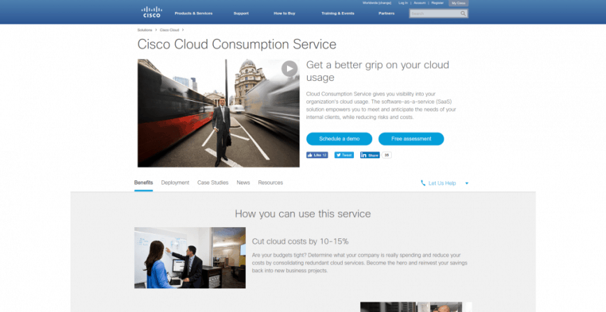 Cloud Solutions Cisco Cloud Consumption Service Cisco