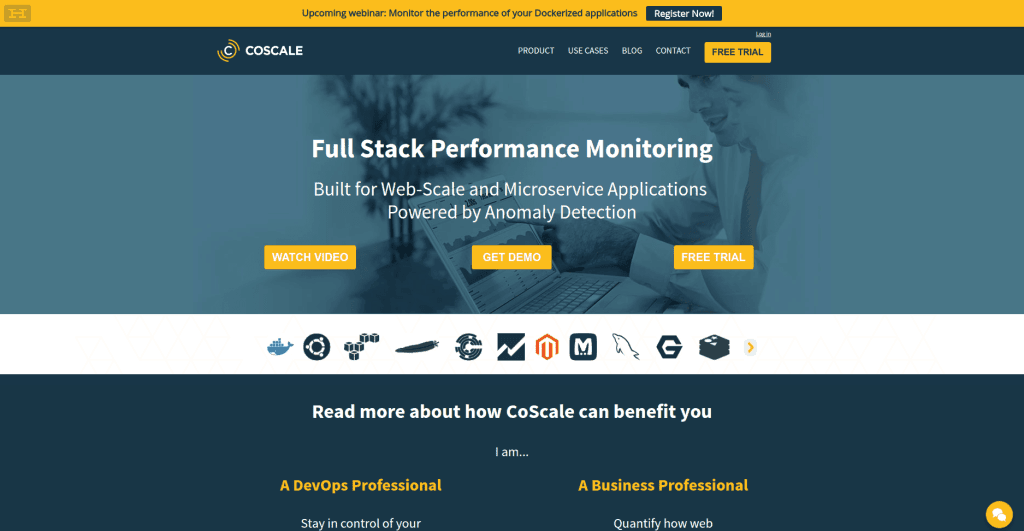 CoScale Full Stack Performance Monitoring