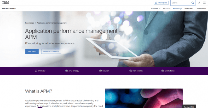 IBM Application Performance Management APM