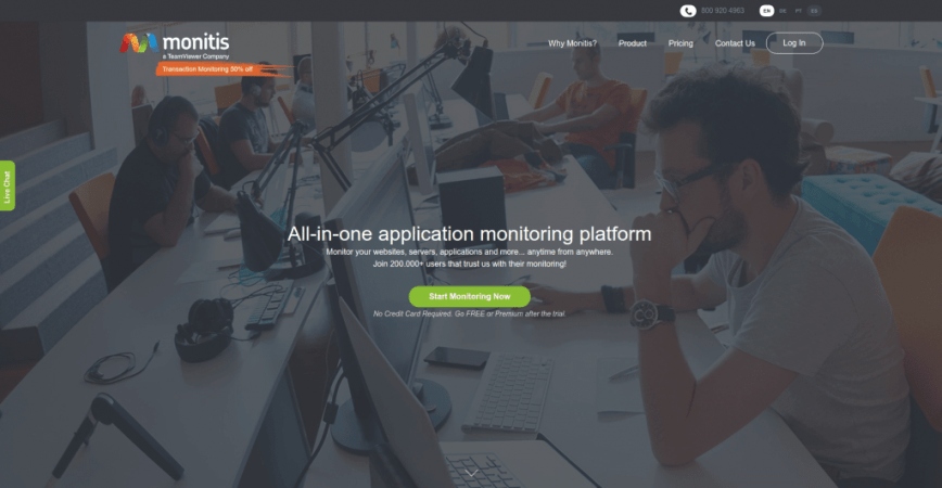 Network IT Systems Monitoring – Monitis