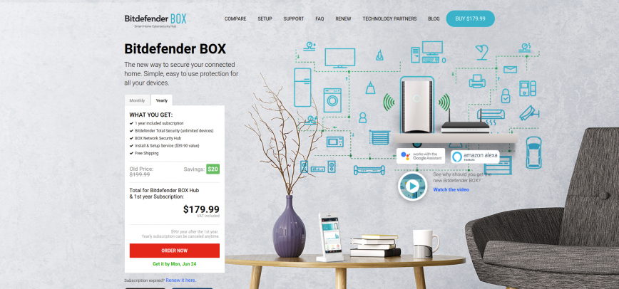 Bitdefender BOX IoT Security