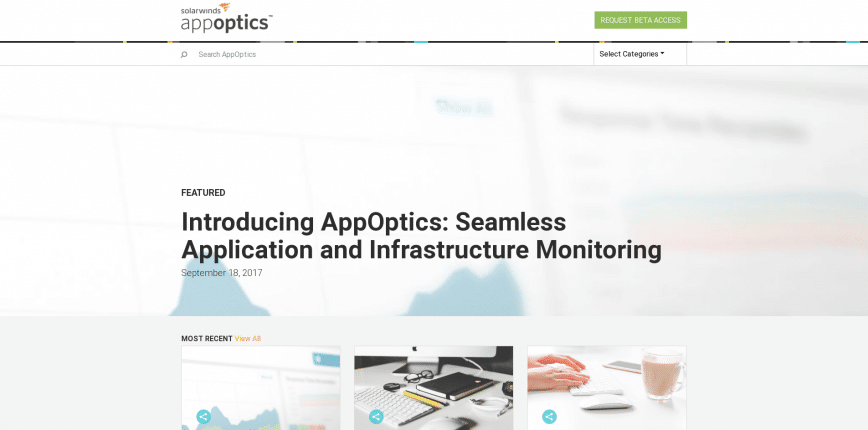 Application Performance Management Server Monitoring AppOptics
