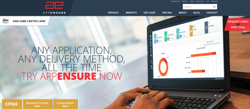 End User Experience and Application Performance Monitoring by AppEnsure