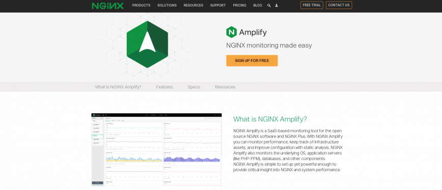 NGINX Amplify Get real time diagnostics for your apps
