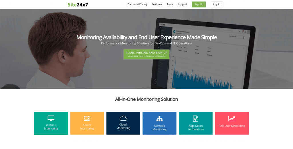 Website Monitoring Website Monitoring Service Server Monitoring - Site24x7