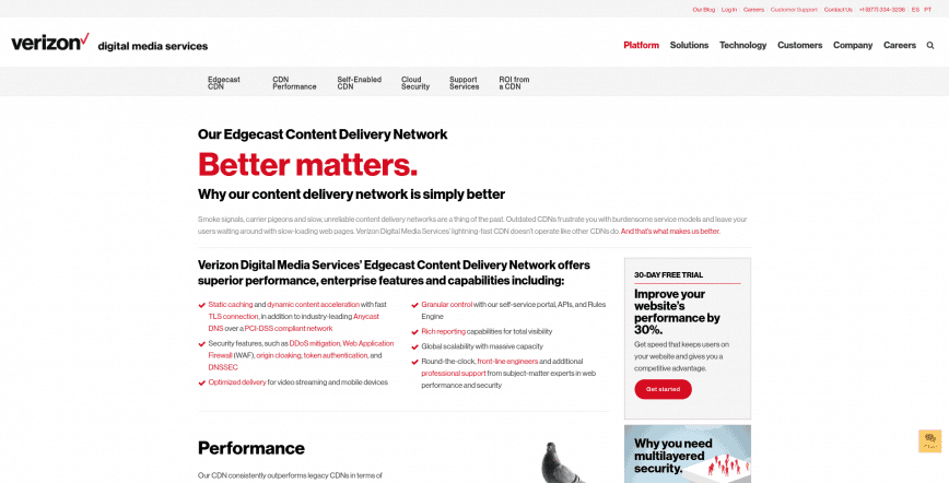 Edgecast Verizon Digital Media Services