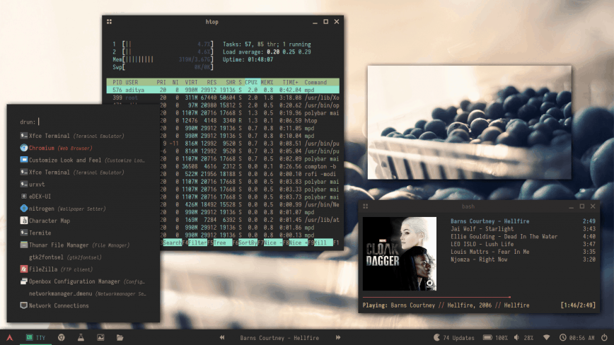 Arch Linux + Openbox