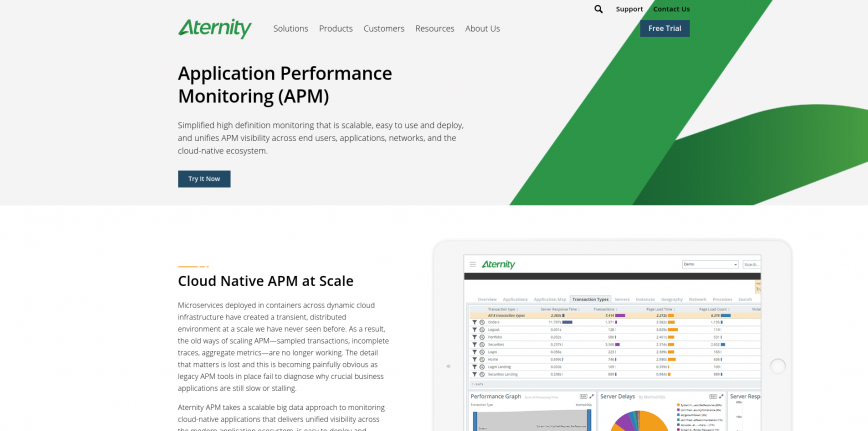 Application Performance Management for Cloud Native Apps Aternity