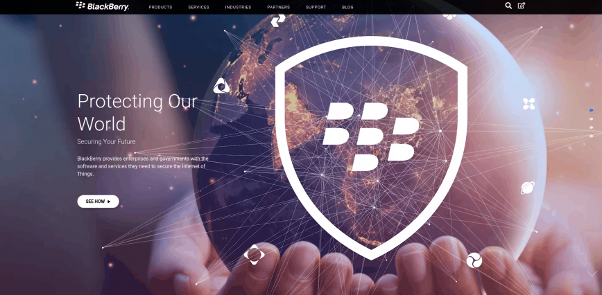 BlackBerry Security Software Services