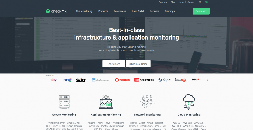 Infrastructure & Application Monitoring _ checkmk