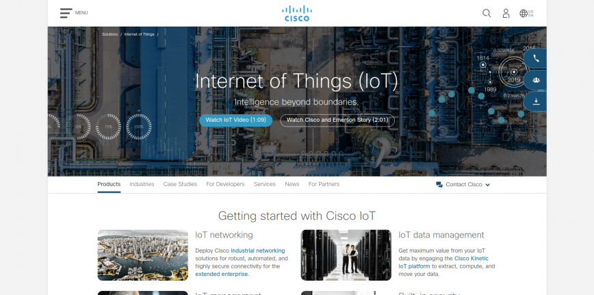 Cisco – Internet of Things (IoT) Solutions & Services