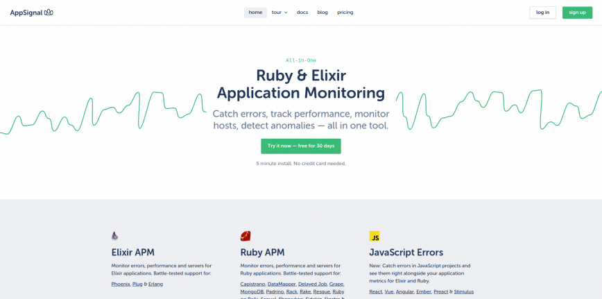 AppSignal Application Performance Monitoring for Ruby on Rails and Elixir