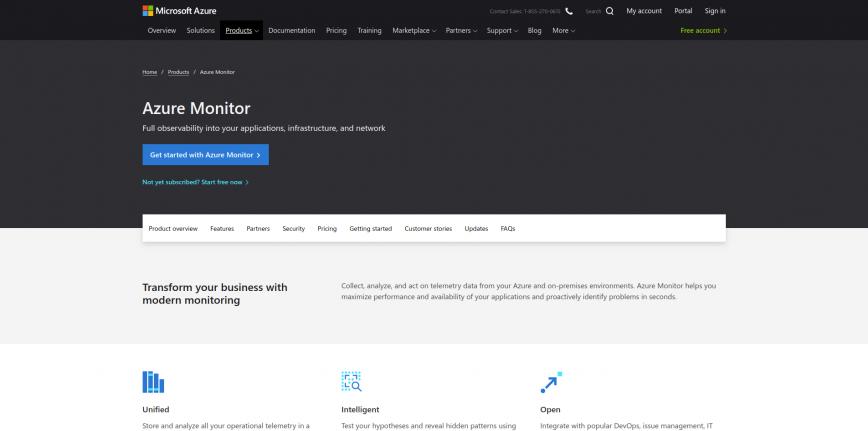 Azure Monitor Microsoft Azure