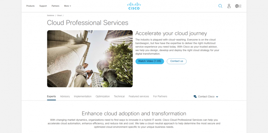 Cloud Professional Services - Cisco