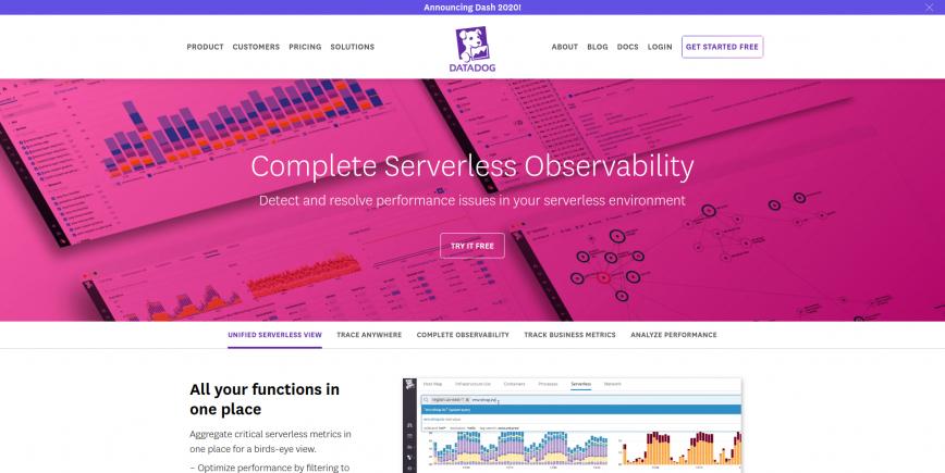 Complete Serverless Observability Datadog