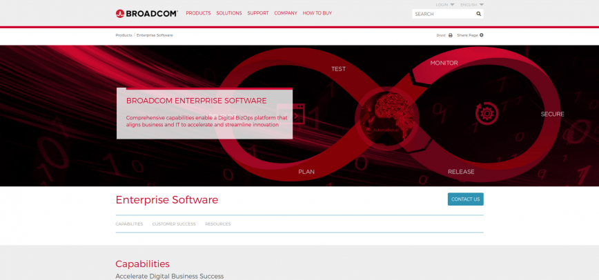 Enterprise Software - Broadcom