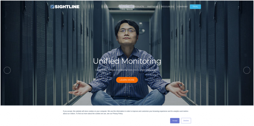 IT Infrastructure Monitoring Software for Servers and Applications - Sightline Systems