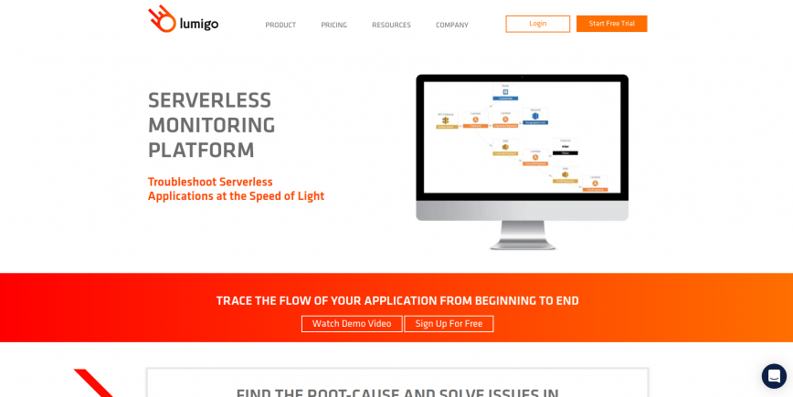 Lumigo - Serverless Monitoring and Troubleshooting Platform