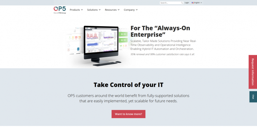 OP5 Offering Enterprise IT Monitoring and Log Analysis