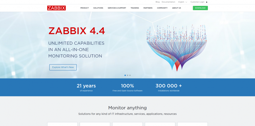 Zabbix The Enterprise-Class Open Source Network Monitoring Solution
