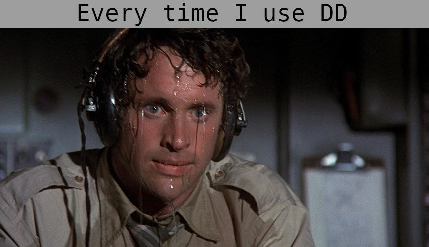 using dd Linux