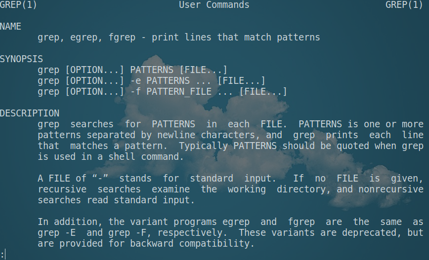 grep command in Linux